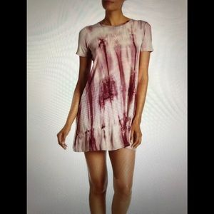 Bobeau Tie-Dye T-Shirt Dress NWOT